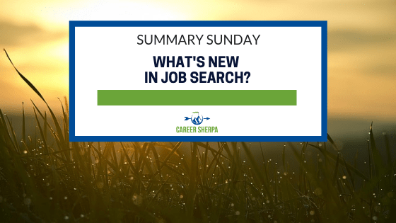 What's New In Job Search