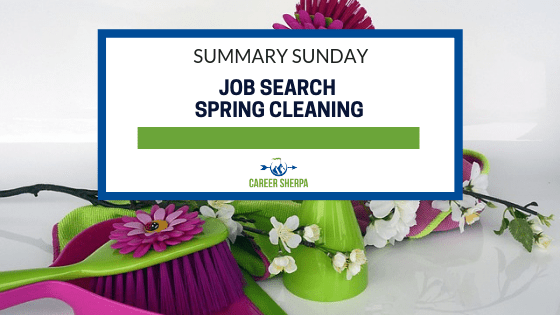 Summary Sunday_ Job Search Spring Cleaning
