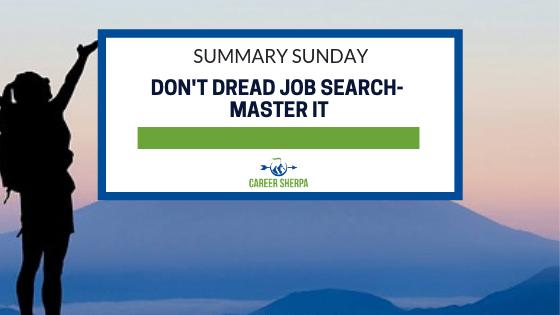 Don't Dread Job Search- Master It