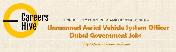 Unmanned Aerial Vehicle System Officer | Dubai Government Jobs