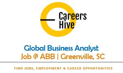 Global Business Analyst Jobs in Greenville, South Carolina   ABB Careers