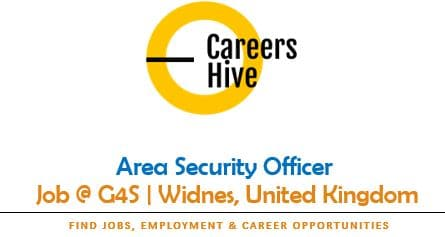 Area Security Officer Jobs in Widnes, United Kingdom   G4S Careers