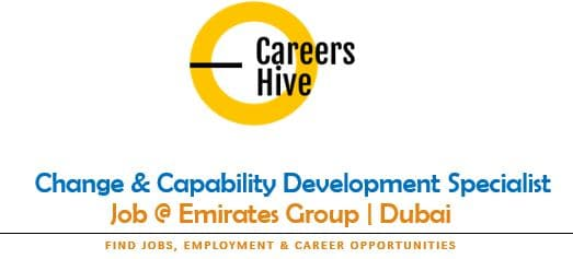 Change & Capability Dev Specialist   Emirates Group Careers dnata