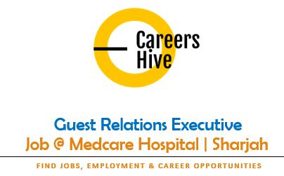 Guest Relations Executive   Medcare Hospital Jobs in Sharjah