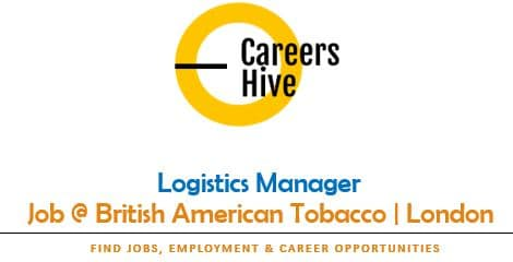 Logistics Manager Jobs in London | British American Tobacco
