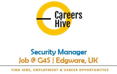 Security Manager Jobs in Edgware, UK | G4S Careers