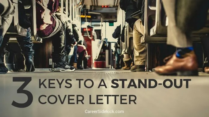 How To Write A Cover Letter That Stands Out 3 Steps Career Sidekick