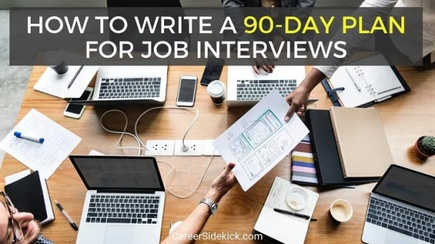 30-60-90 day business plan for job interviews examples
