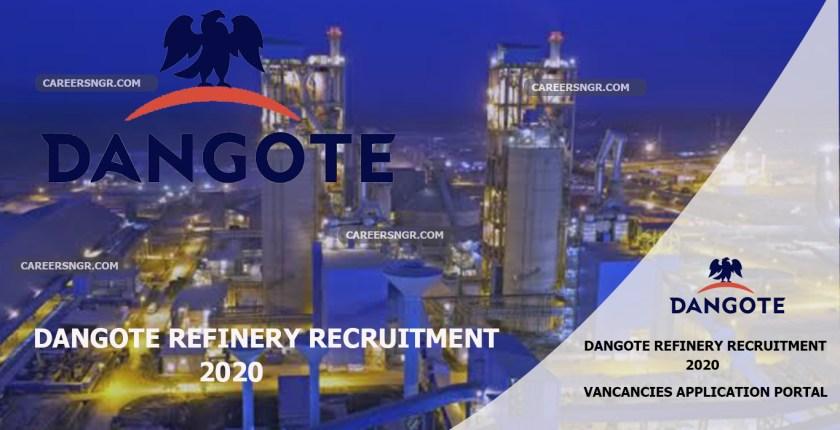 Dangote Refinery Recruitment