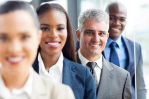 Business Women and Men