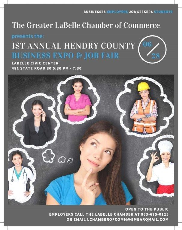 The Greater LaBelle Chamber of Commerce Business Expo & Job Fair