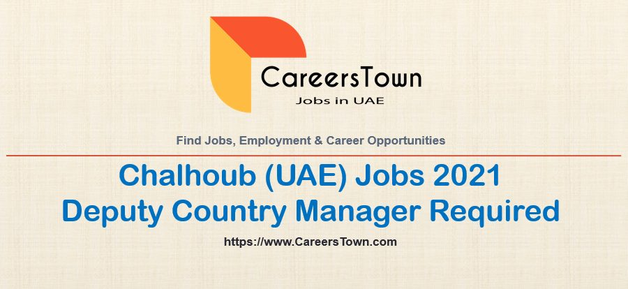 Deputy Country Manager Jobs in Dubai   Chalhoub Careers