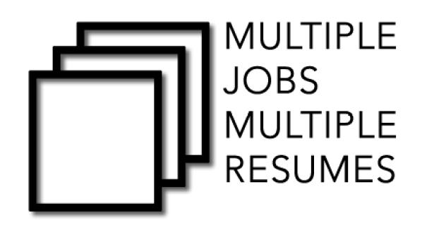 multiple resume