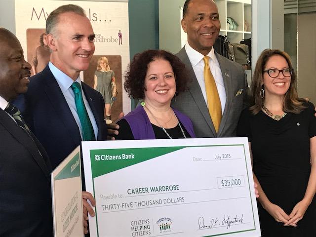 Career Wardrobe named Champion in Action in Social Entrepreneurship & Enterprises Category
