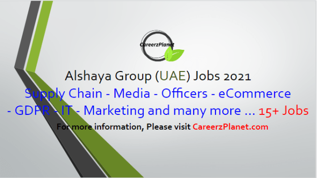15+ Latest vacancies in Alshaya Group 10 May 2021 1- Makeup Artist - Charlotte Tilbury - UAE Full Time UAE Last Date to Apply: Jun-08-2021   2- Cakes & Desserts (Pastry) Development Executive Chef – CPF  Full Time Dubai, UAE Last Date to Apply: May-28-2021  3- Development Head Chef (Savoury) - Central Production Facility Full Time Dubai, UAE Last Date to Apply: May-28-2021  4- Senior Manager- Food Development - Central Production Facility  Full Time Dubai, UAE Last Date to Apply: May-28-2021  5- Nurse - HR  Full Time Dubai, UAE Last Date to Apply: May-25-2021  6- Shipping Coordinator - Logix  Full Time Dubai, UAE Last Date to Apply: May-25-2021  7- Graphic Designer - Bath & Body Works Full Time Dubai, UAE Last Date to Apply: May-25-2021  8- Design Studio Specialist - Pottery Barn Kids Full Time Dubai, UAE Last Date to Apply: May-25-2021  9- Assistant Store Manager - Bath & Body Works Full Time Dubai, UAE Last Date to Apply: May-20-2021  10- Visual Merchandiser - Bath & Body Works Full Time Dubai, UAE Last Date to Apply: May-20-2021  11- Head of GDPR Compliance - Audit & Asset Protection - UAE Full Time Dubai, UAE Last Date to Apply: May-14-2021  And many more jobs. For more details, please scroll down & see the details.  Alshaya Group Careers - United Arab Emirates Apply at CareerzPlanet.com