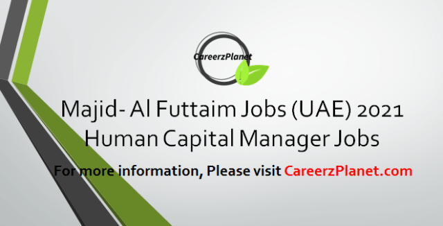 Human Capital Manager Jobs in UAE 30 Mar 2021