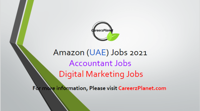Digital Marketing Jobs in UAE 03 Apr 2021 1- Senior Accountant Full Time Dubai, UAE  Job Requirements: a- BA or equivalent degree required. b- Must hold CIMA, ACCA, and ACA or similar credentials gained whilst working in a large accounting professional services company. c- Relevant accounting experience (public accounting /industry mix preferred). d- Demonstrable ability to work to tight deadlines on critical projects.  Job Responsibilities: a- Managing month-end closing activities to ensure completeness in accounting entries. b- Leading the migration process from SAP to OFA for Fixed assets and prepayments. c- Review the asset roll forward on monthly basis and provide the variance analysis. d- Standardization of accounting schedules and implement quality review process. e- Development of IFRS/US GAAP accounting policies and procedures and ensure compliance.   For more details, please scroll down & see the details.  Last Date to Apply: Apr-13-2021  Amazon Careers - United Arab Emirates Apply at CareerzPlanet.com