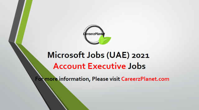 Account Executive Jobs in Dubai 27 Apr 2021