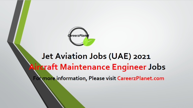 Licensed Aircraft Maintenance Engineer Jobs in Dubai 25 Apr 2021