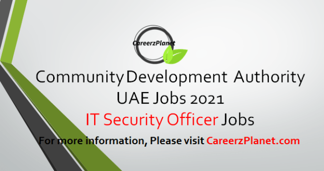IT Security Officer Jobs in Dubai 03 Apr 2021
