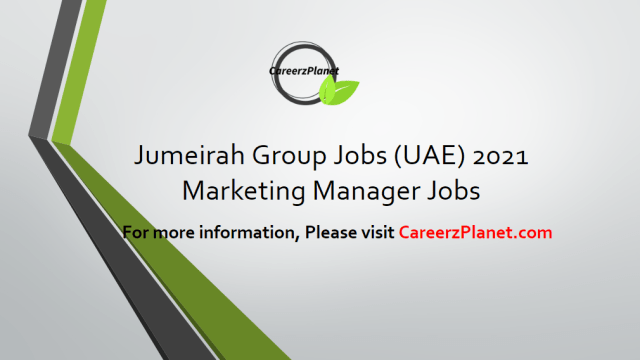 Marketing Manager Jobs 10 Apr 2021
