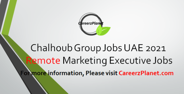 Marketing Executive Jobs in UAE 03 Apr 2021