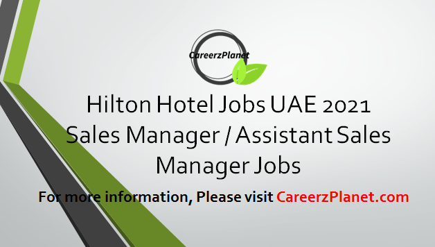 Sales Manager / Assistant Sales Manager Jobs 06 Apr 2021