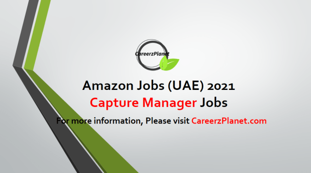 Business Development Capture Manager Jobs in UAE 18 Apr 2021