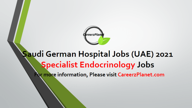 Specialist Endocrinology Jobs in UAE 22 Apr 2021