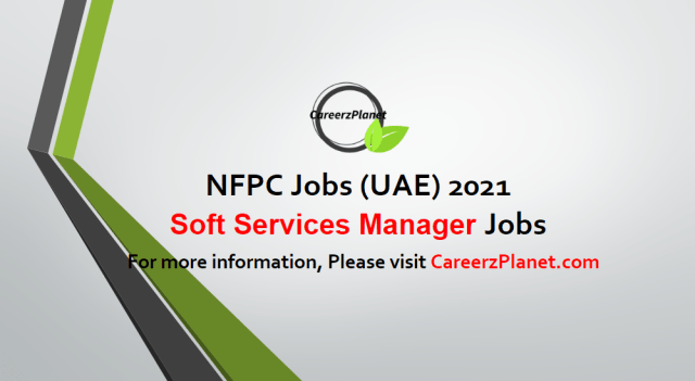 Soft Services Manager Jobs in UAE 05 May 2021