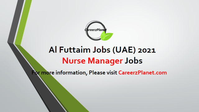 Nurse Manager - Corporate I Healthcare Jobs in UAE 01 May 2021