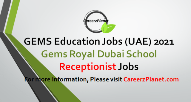 Receptionist Jobs in UAE 05 May 2021