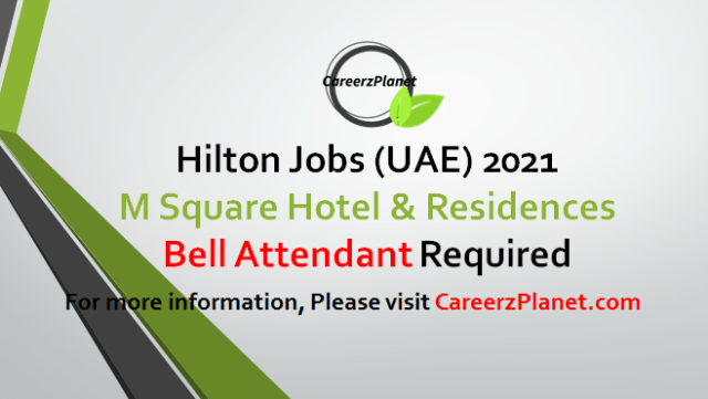 Bell Attendant Jobs UAE 05 May 2021