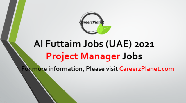 Project Manager Jobs in UAE 22 Jun 2021