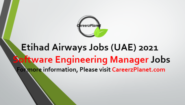Software Engineering Manager Jobs in UAE 09 Jul 2021