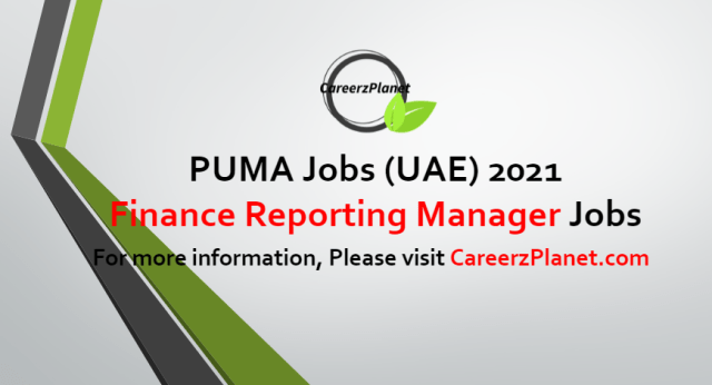 Finance Reporting Manager Jobs in UAE 02 Jul 2021