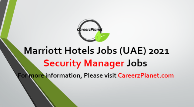 Security Manager Jobs in UAE 05 Jul 2021
