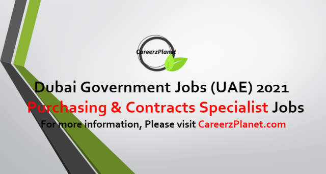 Purchasing and Contracts Specialist Jobs in UAE 04 Jul 2021