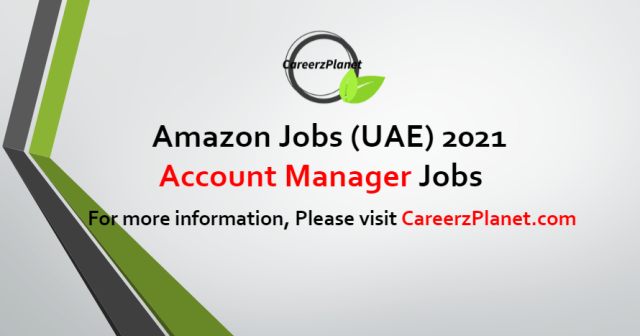 Account Manager Jobs in UAE 24 Aug 2021
