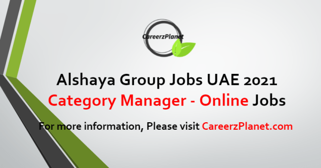 Category Manager - Online Jobs in UAE 23 Aug 2021