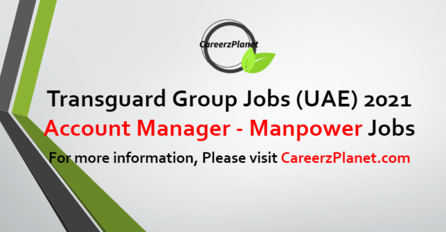 Account Manager - Manpower Jobs in UAE 29 Aug 2021