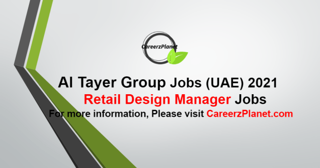 Assistant Design Manager - Retail Jobs in UAE 30 Sep 2021