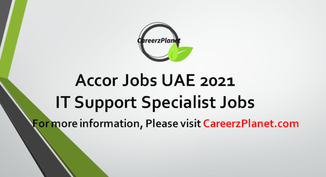 IT Support Specialist Jobs in UAE 13 Sep 2021
