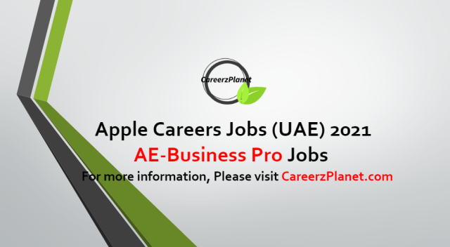 AE-Business Pro Jobs in UAE 08 Oct 2021