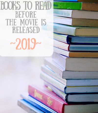 Books To Movie 2019