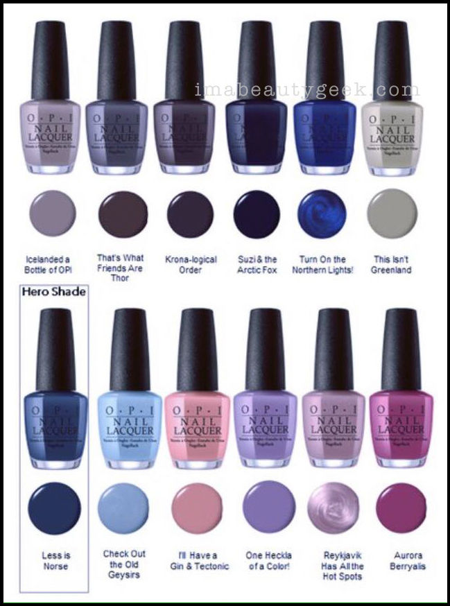 En Opi 2017 Collections Rumored And Confirmed Updated
