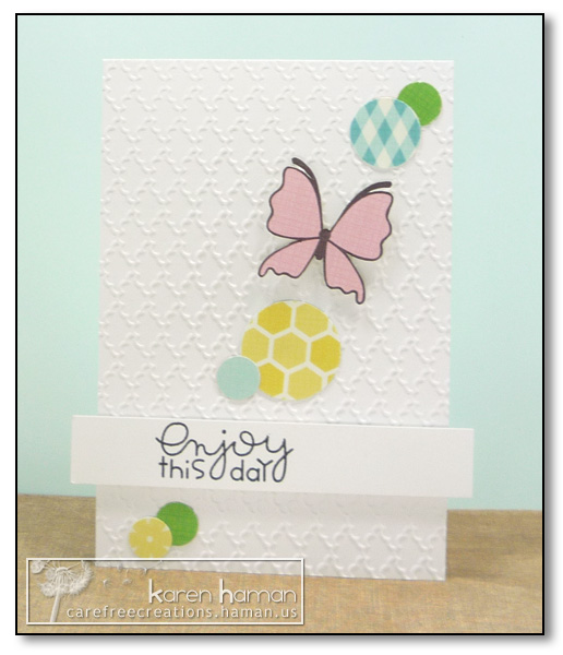 by Karen @ Carefree Creations - Enjoy Spring