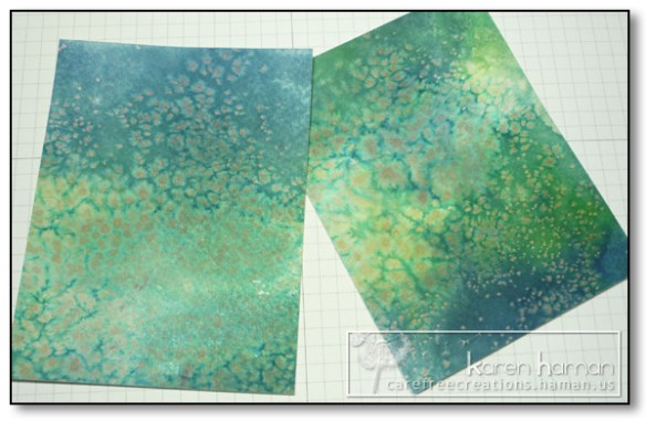 by Karen @ Carefree Creations - Salted Watercolor Backgrounds