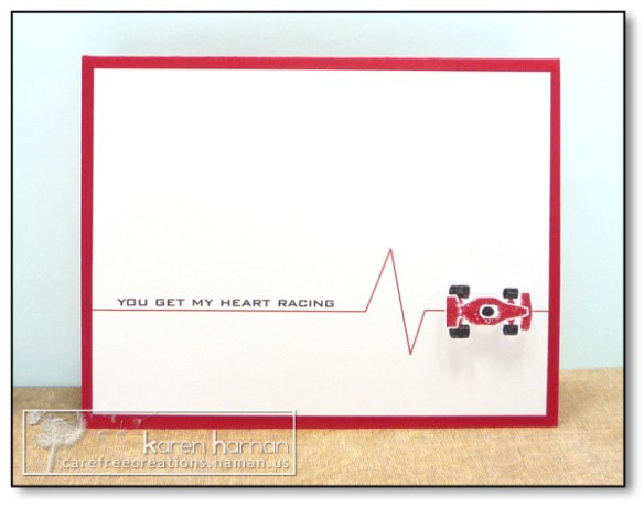 by Karen @ Carefree Creations - Heart Racing