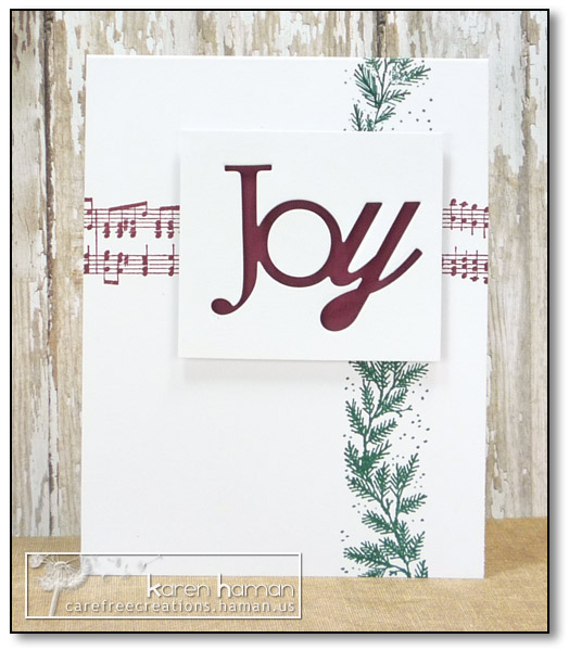 by karen @ carefree creations - Christmas Joy